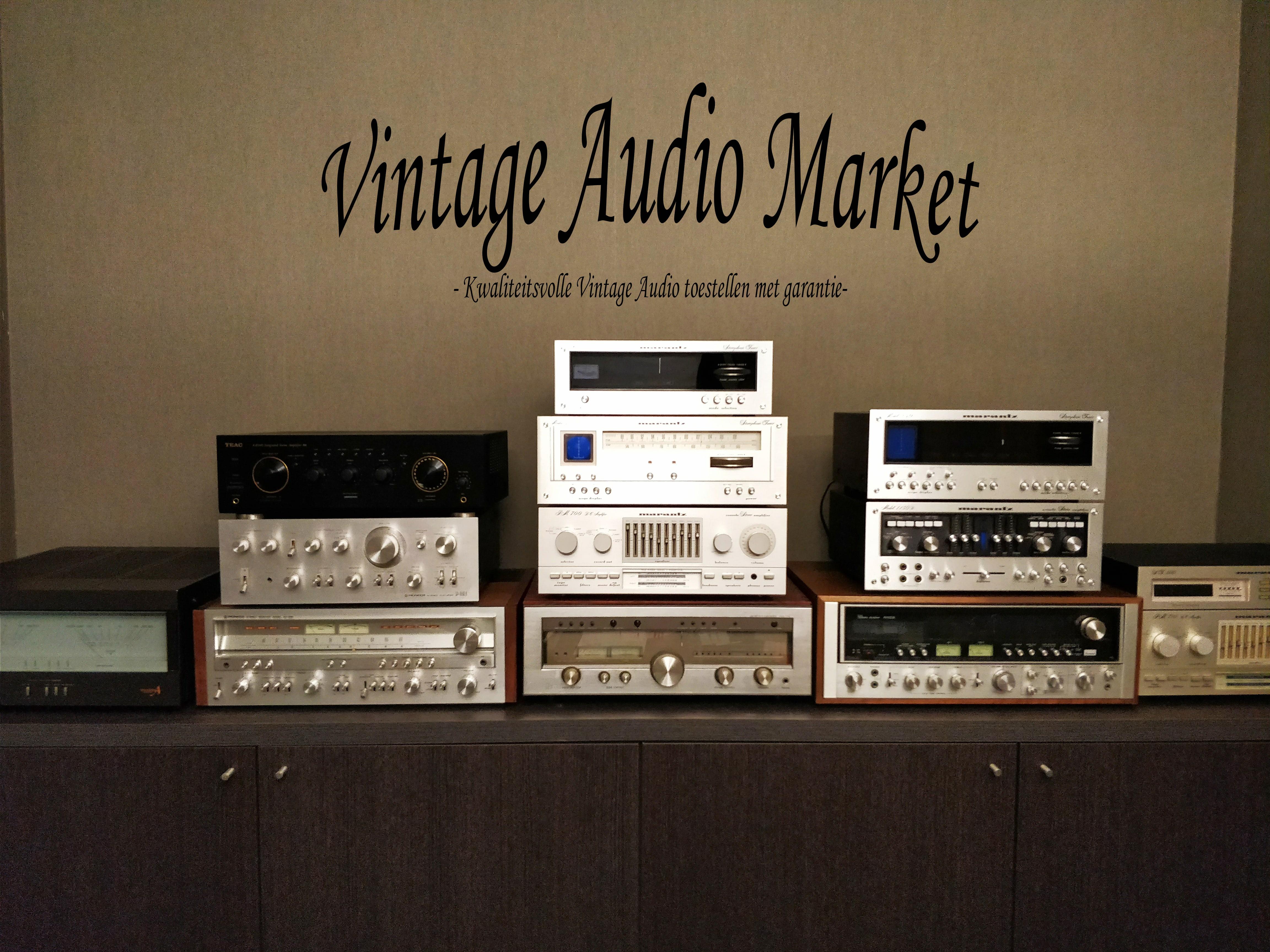 Vintage Audio Market - 2dehands occasietoestellen kopen met garantie